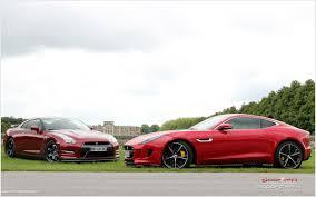 nissan gtr vs audi r8 jaguar f type coupe r vs nissan gt r 2014 scoopcar com