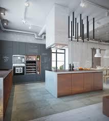 tafelfarbe küche rost optik und beton für eine urbane einrichtung im industrial style