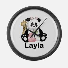 personalized clocks with pictures baby name clocks baby name wall clocks large modern kitchen