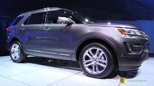 Ford Explorer 2015 Interior 2016 Ford Explorer Limited Exterior And Interior Walkaround