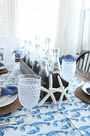 Dining Room Linens by A Coastal Blue Crab Table Starfish Cottage