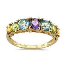 coloured gemstone rings images Multi coloured rings uk 28 images 18ct white gold multi jpeg