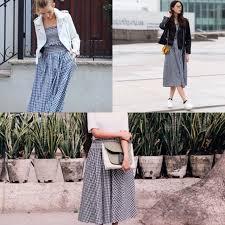 60 off zara dresses u0026 skirts zara gingham top and skirt set