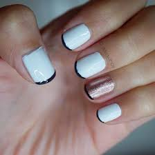 manicure monday the new french manicure series styled with joy