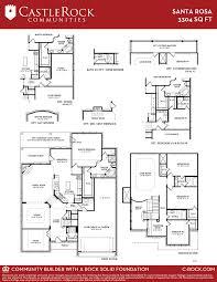 Powder Room Santa Rosa Santa Rosa Gold Home Plan By Castlerock Communities In Build On