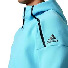 light blue adidas hoodie adidas z n e men s tennis full zip hoodie blue