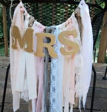chagne chair sashes mr mrs chair garlands fabric chair garlands for the and