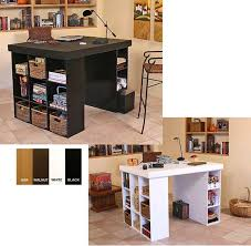 3 Bin Cabinet Venture Horizon Project Center Table With One Bookcase And One 3