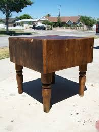 big old heavy antique butcher block mmd antiques pinterest