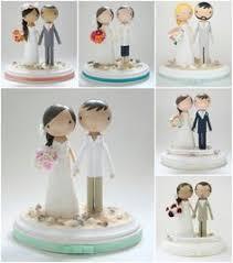 Cake Decorations Beach Theme - custom wedding cake topper beach theme by lollipopworkshop on