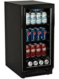 beer refrigerator glass door amazon com beverage refrigerators appliances