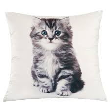 Kitten Bedding Set Kitten Duvet Cover With Pillow Case Bedding Set Blanket Throw