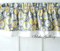 Yellow Kitchen Curtains Valances Yellow Kitchen Curtains Pretty Kitchen Curtains Large Size Of