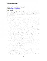 cool quality control resume 8 and quality control specialist