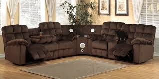 java 3pcs reclining sectional michaels furniture store view