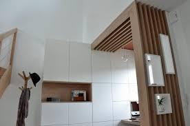 claustra de bureau claustra bois avec arche bureau sous alcove soa soa architecture