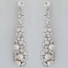 Chandelier Earrings Bridal 32 Most Wanted Wonderful Pearl And Crystal Earrings Eternity Jewelry
