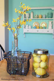 Turquoise Kitchen Decor by 136 Best Yellow And Turquoise Images On Pinterest Yellow Yellow