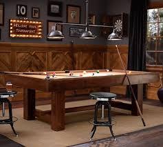 restoration hardware pool table pottery barn pool table rustic mahogany pottery barn