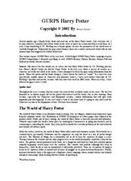 harry potter et la chambre des secrets pdf gurps harry potter pdf drive