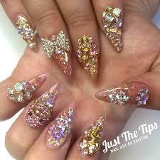 day 184 bright colors u0026 bling nail art nails magazine