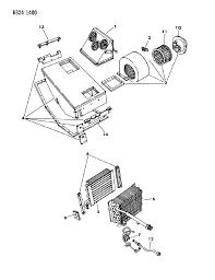 1986 dodge ram parts rear a c heater unit for 1986 dodge ram mopar parts