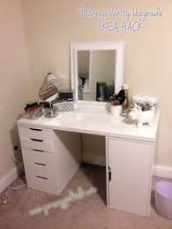 Diy Makeup Vanity With Lights Pin By Felicia Williams On Makeup And Vanities Goals Pinterest