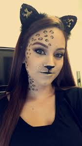 Black Eye Makeup For Halloween Best 25 Leopard Makeup Ideas On Pinterest Leopard Costume Cat