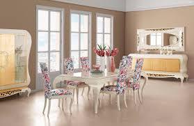 mesa de diseño nuevo barroco de madera rectangular new york