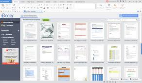templates for wps office android wps office templates docer and more