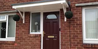 Door Canopy Kits B Q by Grp Canopies For New Build Houses Canopies Uk