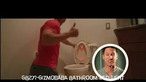 Bathroom Sensor Lights by Gb271 Gizmobaba Bathroom Motion Sensor Light Gadget Youtube