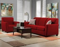 Ashby Sofa Red Leons - Leons bunk beds