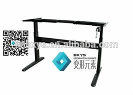 Computer Desk Height by Hand Cranked Crank Lifting System Home Office Computer Writing