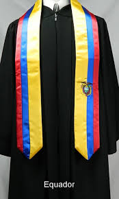 personalized graduation stoles custom satin stoles graduation stoles class officer stoles