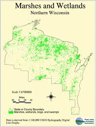 Maps Of Wisconsin by Northern Wisconsin Wetlands Northwoods Wi