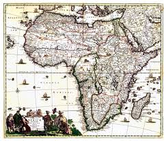 Ancient Africa Map by The Scramble For Africa