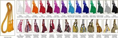 graduation cord graduation tassels and honor cords manufacturer in china