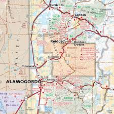 New Mexico Map With Cities And Towns by New Mexico Recreation Map U2014 Benchmark Maps