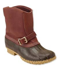 s bean boots size 9 s tumbled leather l l bean boots 9 lounger