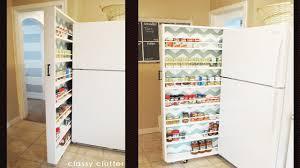 top of fridge storage made a pocket cabinet original got removed diy
