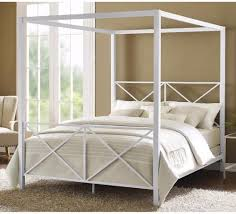 bed frames bed frame full queen iron canopy bed canopy bed ikea