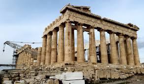 Parthenon Interior Ken Munsie 194 The Acropolis Crowns Athens
