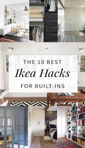 Billy Bookcase Hack Built In Cozy Ikea Closet Hacks 137 Ikea Hack Wardrobe Desk Ikea Hack With