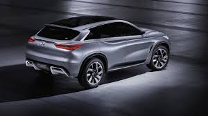 infiniti van infiniti qx50 replacement due at paris motor show
