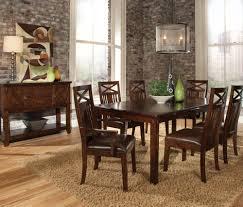 standard furniture dining room sets standard furniture sonoma leg dining table in oak beyond stores