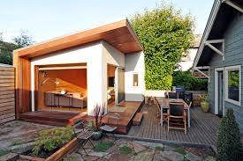 inlaw unit montlake backyard office modern patio seattle by fivedot