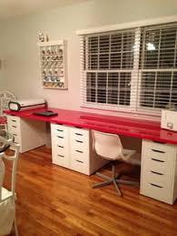 Ikea Desk Hacks by How To Make A Diy Plank Top Ikea Cabinet Desk Ikea Hack Desk