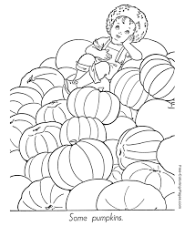 autumn pictures to color 19