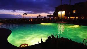 san diego cape rey carlsbad resort pool at night